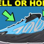 YEEZY 700 MNVN BRIGHT CYAN SELL OR HOLD & RESELL PREDICTIONS !!!!