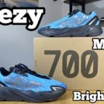 Yeezy 700 MNVN Bright Cyan Review& On foot