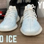 Yeezy Boost 350 V2 Mono Ice Review and On Feet || New Sizing Tips