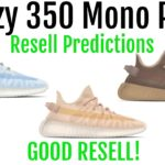 Yeezy Boost 350 V2 Mono Pack – Resell Predictions – Good Resell! Great Personals!