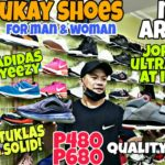 JORDANS YEEZY ULTRABOOST at iba pa!DAMING SOLID!new arrival ukay shoes,clip and hanger cubao