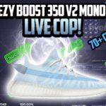 Live Cop Ep 5 – Yeezy Boost 350 V2 Mono Ice – Prism, Kylin Bot, Wrath, Velox