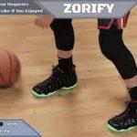 """NBA 2K21 Next Gen Shoe Creator – Nike Foamposite Pro """"Solar Red / Yeezy"""""""