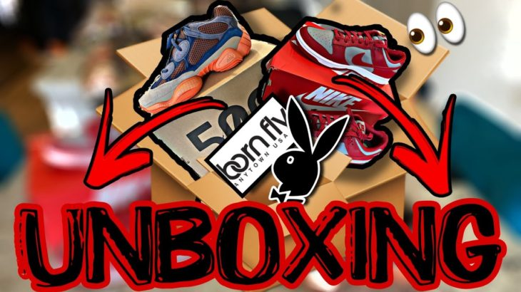 Sneaker & Clothing Unboxing Nike Dunk Yeezy And Other Essentials‼️