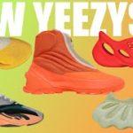 Unreleased YEEZYS! Top 10 Up Coming YEEZYS FOR THE REST OF 2021! YEEZY 450 Dark Slate Unboxing!
