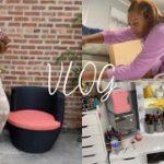 VLOG: NEW VANITY FROM IKEA | SMALL VANITY TOUR | NEW YEEZY ft. Sneaker StockX
