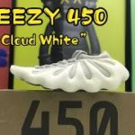 Watch This Before You Buy – Yeezy 450 Cloud White : Unboxing Review