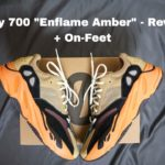"""Yeezy 700 """"Enflame Amber"""" – Best Yeezy 700 I've had in a while"""