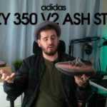 """adidas Yeezy 350 V2 """"Ash Stone"""" Unboxing & Review 🟤⚪🟠 PT"""
