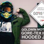高性能冬用バイクジャケット「GWM ゴアテックスインフィニアム フーデッドジャケット」レビュー