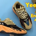 LOOK:adidas Yeezy Boost 700 Enflame Amber GW0297 Review