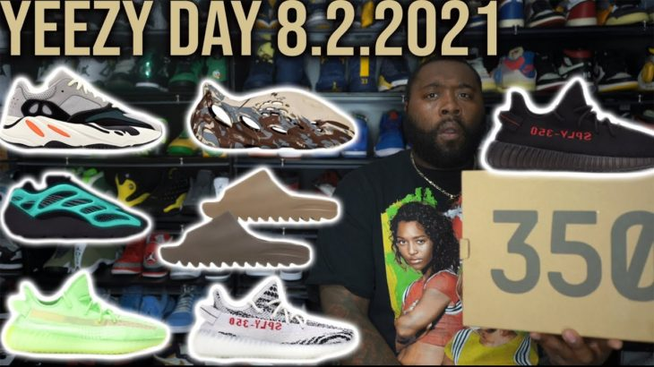 YEEZY DAY 2021 FULL SNEAKER LINEUP! TONS OF HEAT AND MONEY TO BE MADE!