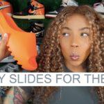 unboxing adidas Yeezy Slide Enflame Orange