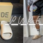 """ADIDAS YEEZY SLIDE """"Pure"""" 