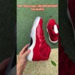 "Air Jordan 11 ""Gym Red"" #shorts #dunk #yeezy#jordan #shorts #nike #adidas#Jordan"