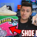 Jordan Brand NEVER does THIS with 1s! + Yeezy 350 v2 Light Unboxing and RARE Sneaker Collab!