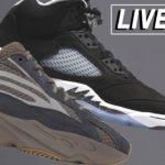 LIVE COP: Yeezy 700 V2 Mauve & Jordan 5 Moonlight (Oreo) + BAPE Drop