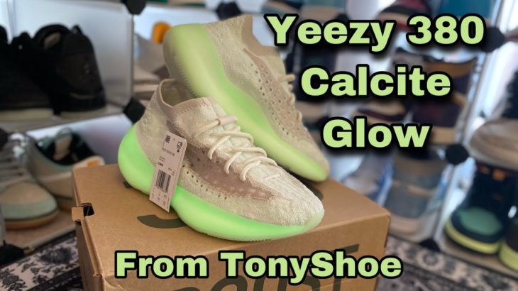 Review Yeezy 380 Boost Calcite Glow replica from Tony Shoe. Best fake/UA sneakers? DHgate alt