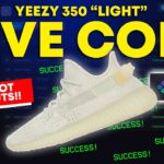 Yeezy 350 Light LIVE COP! WhatBot, Sole AIO, Dashe | Sneaker Bot Live Cop