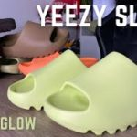 Yeezy Slide Glow Green ON Feet Review And Sizing Tips