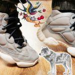 Adidas Yeezy 500 High Mist Stone / DETAIL & ON FEET / EP.256