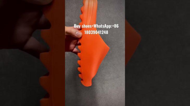 Adidas yeezy slides Orange/yeezy sandals/slippers