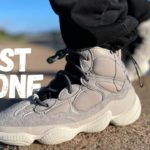 The Most Popular Yet!? Yeezy 500 High Mist Stone Review & On Foot