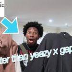 Yeezy x Gap hoodie alternative!! (Abercrombie & Fitch hoodie review)